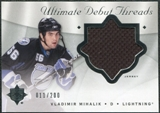 2008/09 Upper Deck Ultimate Collection Debut Threads #DTVM Vladimir Mihalik /200