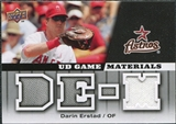 2009 Upper Deck UD Game Materials #GMDE Darin Erstad