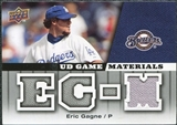 2009 Upper Deck UD Game Materials #GMEG Eric Gagne