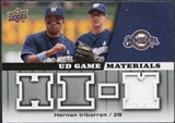 2009 Upper Deck UD Game Materials #GMHI Hernan Iribarren