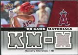 2009 Upper Deck UD Game Materials #GMKM Kendry Morales