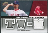 2009 Upper Deck UD Game Materials #GMTW Tim Wakefield