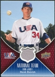 2009 Upper Deck USA National Team Jerseys #DD Derek Dietrich