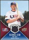 2009 Upper Deck USA National Team Jerseys #HM Hunter Morris