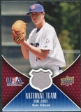 2009 Upper Deck USA National Team Jerseys #KG Kyle Gibson