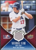 2009 Upper Deck USA National Team Jerseys #MD Matt den Dekker