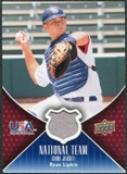 2009 Upper Deck USA National Team Jerseys #RL Ryan Lipkin