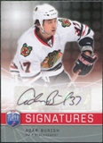 2008/09 Upper Deck Be A Player Signatures #SAB Adam Burish Autograph