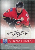 2008/09 Upper Deck Be A Player Signatures #SPH Dion Phaneuf Autograph