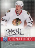 2008/09 Upper Deck Be A Player Signatures #SSE Brent Seabrook Autograph