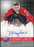2008/09 Upper Deck Be A Player Signatures #SVO Tomas Vokoun Autograph