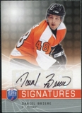 2008/09 Upper Deck Be A Player Signatures #SBRI Daniel Briere Autograph