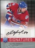 2008/09 Upper Deck Be A Player Signatures #SMAR Andrei Markov Autograph