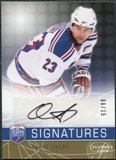 2008/09 Upper Deck Be A Player Signatures Player's Club #SCD Chris Drury Autograph /15