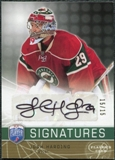 2008/09 Upper Deck Be A Player Signatures Player's Club #SJH Josh Harding Autograph /15