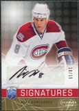 2008/09 Upper Deck Be A Player Signatures Player's Club #SMK Mike Komisarek Autograph /15
