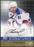 2008/09 Upper Deck Be A Player Signatures Player's Club #SMN Markus Naslund Autograph /15