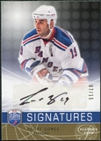 2008/09 Upper Deck Be A Player Signatures Player's Club #SSG Scott Gomez Autograph /15