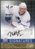 2008/09 Upper Deck Be A Player Signatures Player's Club #SST Matt Stajan Autograph /15