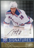 2008/09 Upper Deck Be A Player Signatures Player's Club #SSTA Marc Staal Autograph /15