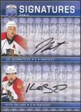 2008/09 Upper Deck Be A Player Signatures Dual #S2JK Jay Bouwmeester / Keith Ballard Autograph