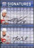 2008/09 Upper Deck Be A Player Signatures Dual #S2LB Dustin Boyd / Matthew Lombardi Autograph