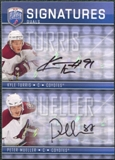 2008/09 Upper Deck Be A Player Signatures Dual #S2MT Peter Mueller / Kyle Turris Autograph