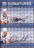 2008/09 Upper Deck Be A Player Signatures Dual #S2WG Bill Guerin / Doug Weight Autograph