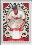 2009 Upper Deck SP Legendary Cuts Destination Stardom Memorabilia #CU Chase Utley
