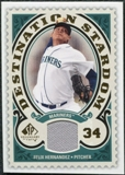 2009 Upper Deck SP Legendary Cuts Destination Stardom Memorabilia #FH Felix Hernandez