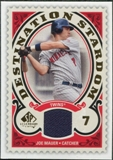 2009 Upper Deck SP Legendary Cuts Destination Stardom Memorabilia #JM Joe Mauer