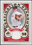 2009 Upper Deck SP Legendary Cuts Destination Stardom Memorabilia #JP Jonathan Papelbon