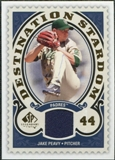 2009 Upper Deck SP Legendary Cuts Destination Stardom Memorabilia #PE Jake Peavy