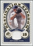 2009 Upper Deck SP Legendary Cuts Destination Stardom Memorabilia #SK Scott Kazmir