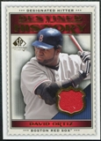 2009 Upper Deck SP Legendary Cuts Destined for History Memorabilia #DO David Ortiz