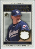 2009 Upper Deck SP Legendary Cuts Destined for History Memorabilia #TH Trevor Hoffman