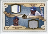 2009 Upper Deck SP Legendary Cuts Generations Dual Memorabilia #GMDM Eddie Murray Carlos Delgado