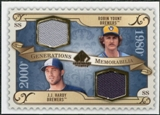 2009 Upper Deck SP Legendary Cuts Generations Dual Memorabilia #GMHY Robin Yount J.J. Hardy