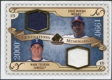 2009 Upper Deck SP Legendary Cuts Generations Dual Memorabilia #GMMT Eddie Murray Mark Teixeira