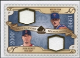 2009 Upper Deck SP Legendary Cuts Generations Dual Memorabilia #GMTX Nolan Ryan Josh Beckett