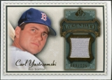 2009 Upper Deck SP Legendary Cuts Legendary Memorabilia #CY Carl Yastrzemski /125