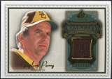 2009 Upper Deck SP Legendary Cuts Legendary Memorabilia #GP4 Gaylord Perry /125