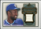 2009 Upper Deck SP Legendary Cuts Legendary Memorabilia #JC2 Joe Carter /125
