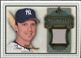 2009 Upper Deck SP Legendary Cuts Legendary Memorabilia #TM2 Tino Martinez /125