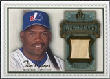 2009 Upper Deck SP Legendary Cuts Legendary Memorabilia #TR2 Tim Raines /125