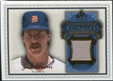 2009 Upper Deck SP Legendary Cuts Legendary Memorabilia Blue #MO2 Jack Morris /100
