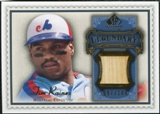 2009 Upper Deck SP Legendary Cuts Legendary Memorabilia Blue #TR Tim Raines /100