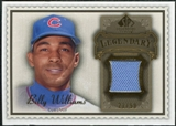 2009 Upper Deck SP Legendary Cuts Legendary Memorabilia Brown #BW Billy Williams /50