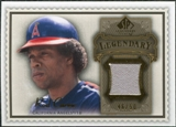 2009 Upper Deck SP Legendary Cuts Legendary Memorabilia Brown #CA3 Rod Carew /50