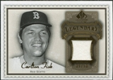 2009 Upper Deck SP Legendary Cuts Legendary Memorabilia Brown #CF2 Carlton Fisk /50